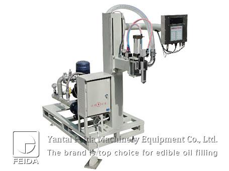 Flowmeter edible oil filling ma