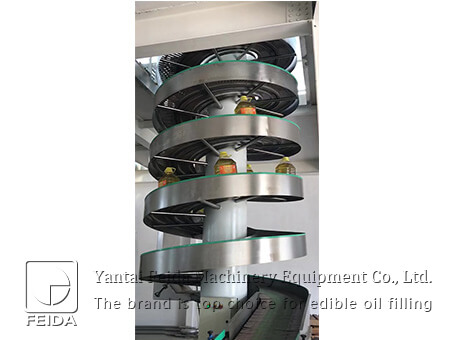 Powered screw conveyer