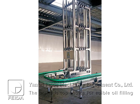 Controllable vertical carton dr